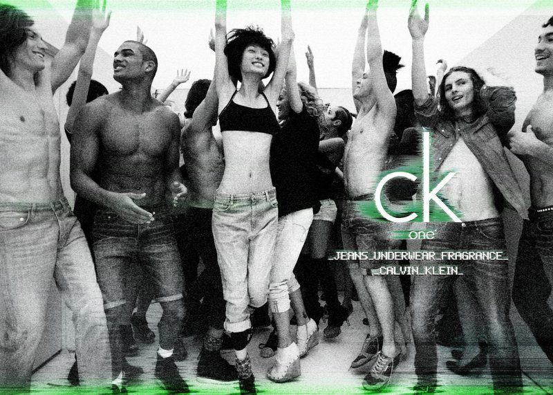 Роб Эванс в рекламе Calvin Klien