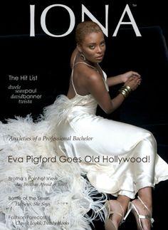 Эва Пигфорд на обложке журнала
