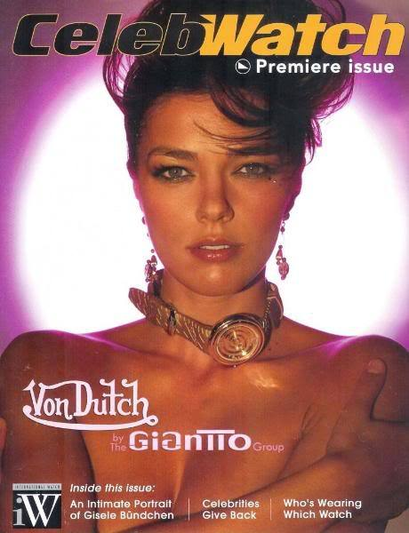 Эдрианн Карри на обложке журнала
