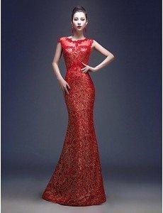 Красное вечернее платье на 14 февраля