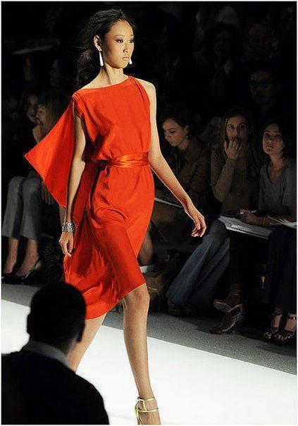 Красные коктейльные платья