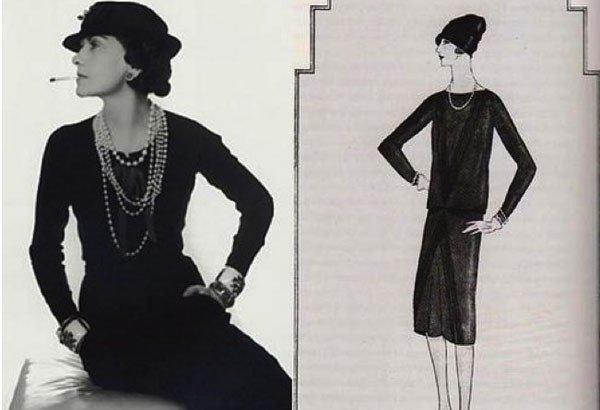 Маленькое черное платье Коко Шанель