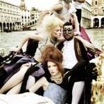 Энн Уорд фотосессия в Венеции