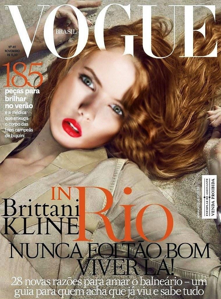 Бриттани Кляйн в журнале Vogue