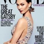 Карли Клосс на обложке Vogue