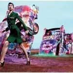 Карли Клосс цветная фотография