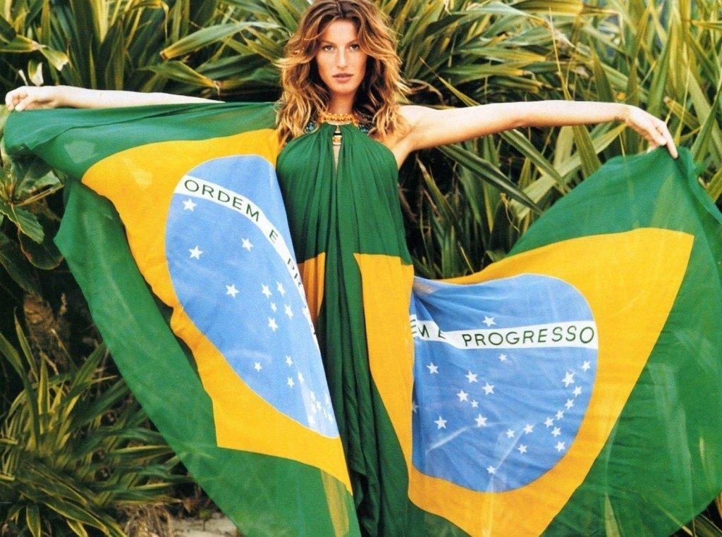 Жизель Бундхен родилась в Бразилии
