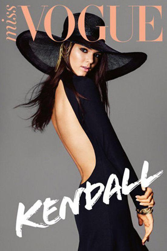 Кендалл Дженнер в журнале Vogue