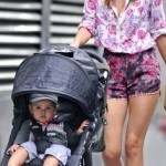 Миранда Керр с ребенком