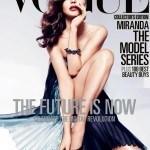 Миранда Керр в журнале Vogue