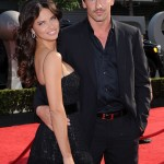 Адриана Лима с мужем
