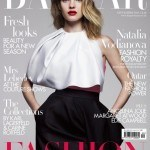 Наталья Водянова на обложке журнала Harper's Bazar
