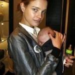 Наталья Водянова с ребенком