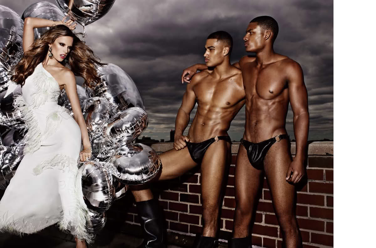 Алессандра Амбросио фотосессия Dior