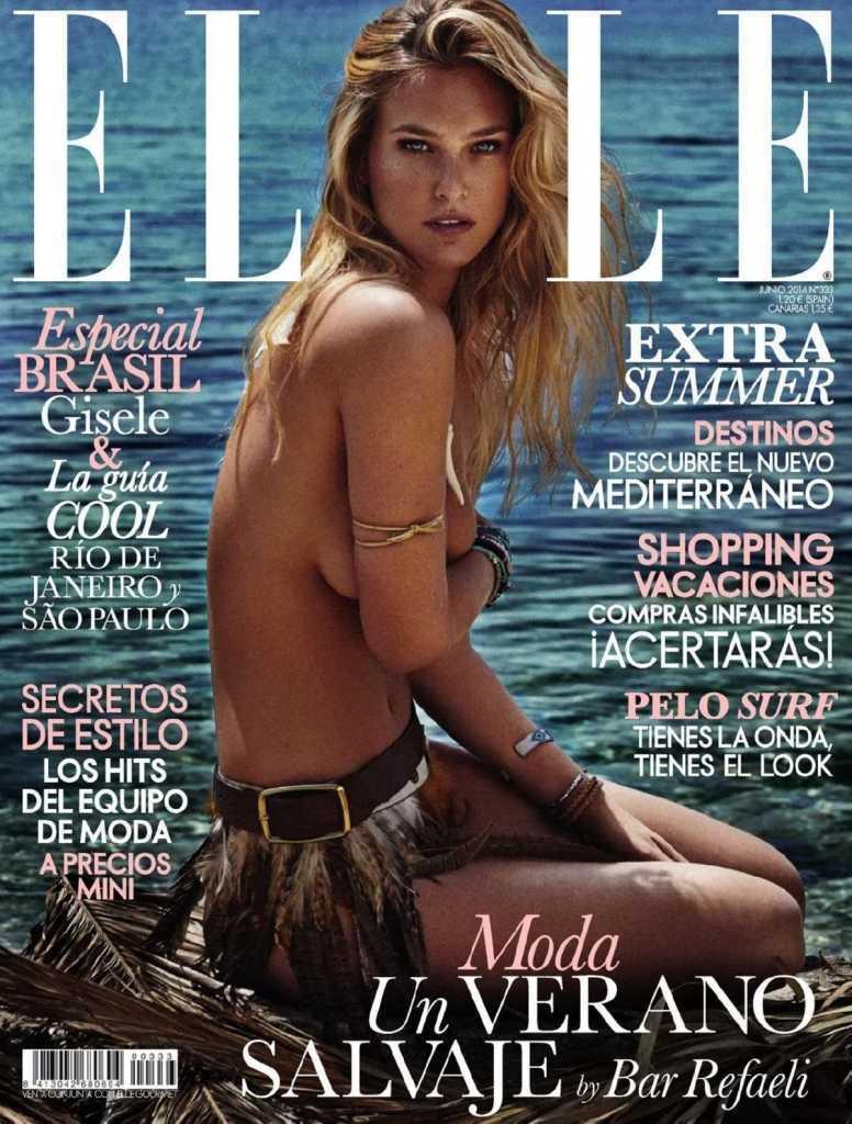 Бар Рафаэли на обложке Elle