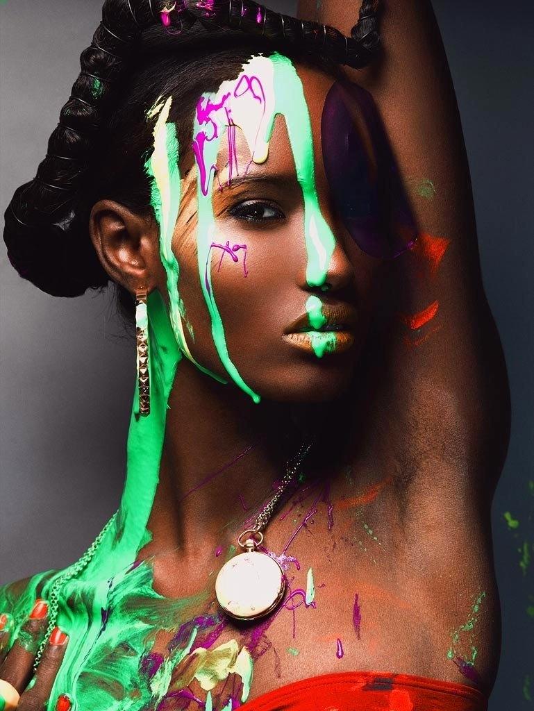 Фатима Сиад модель