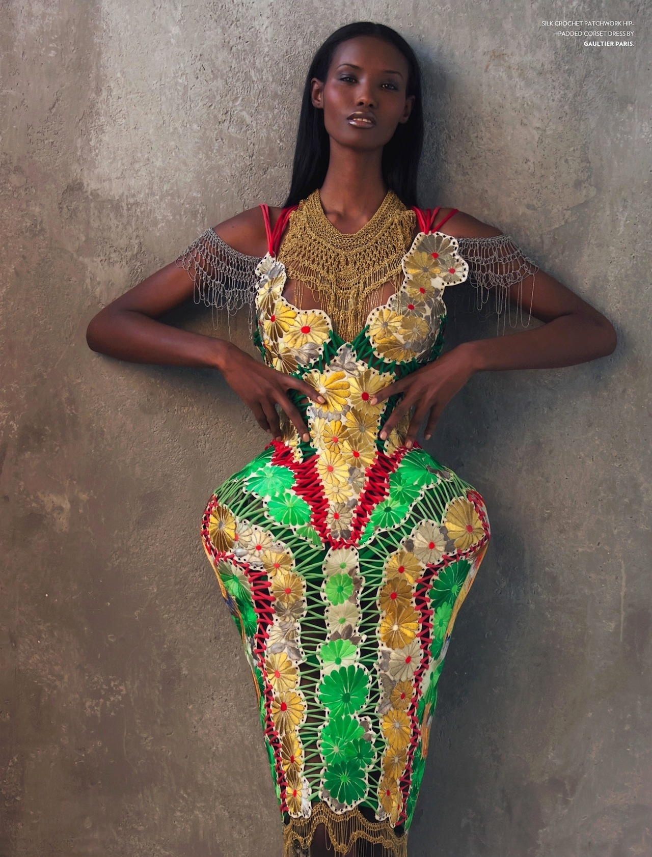 Фатима Сиад африканская модель