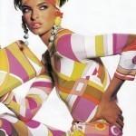 Линда Евангелиста модель в Vogue