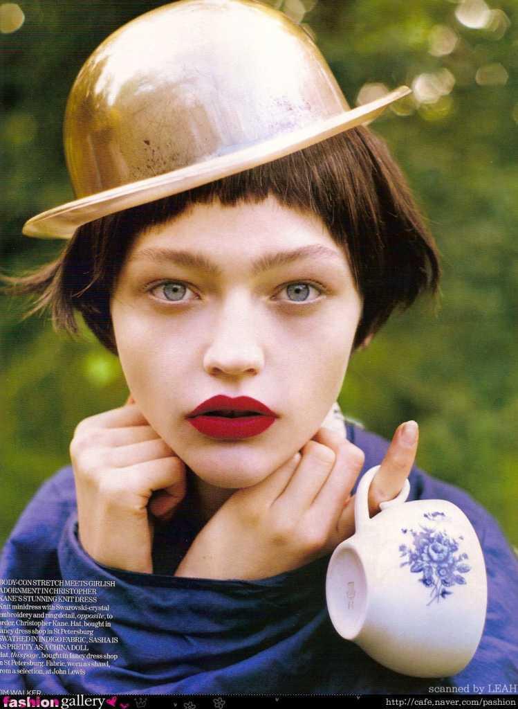 Саша Пивоварова модель
