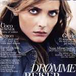 Снежана Онопко на обложке журнала Cover Girl