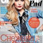 Снежана Онопко на обложке журнала Glamour