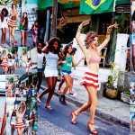 Алессандра Амбросио Vogue фотосессия