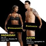 Участники топ-модель по-американски 22 сезон Justin Hadassah