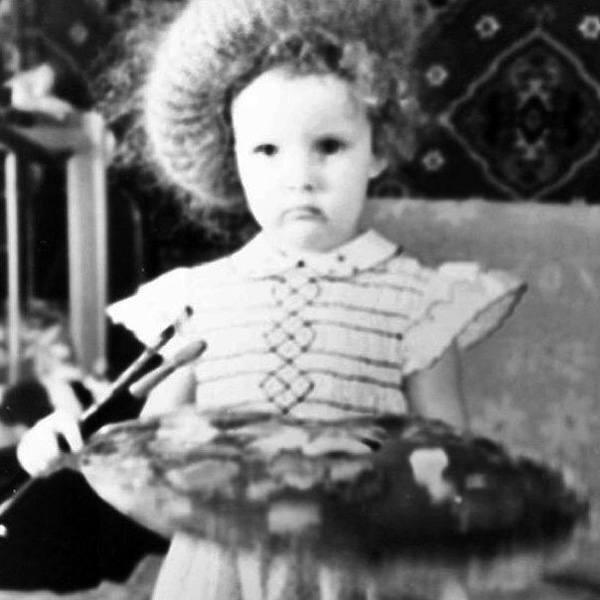 Инна Цимбалюк в детстве