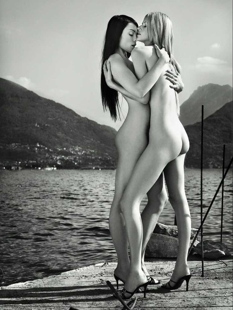 Йоанна и Шенди парная фотосессия топ-модель