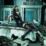Leila Goldkuhl фотосессия зомби