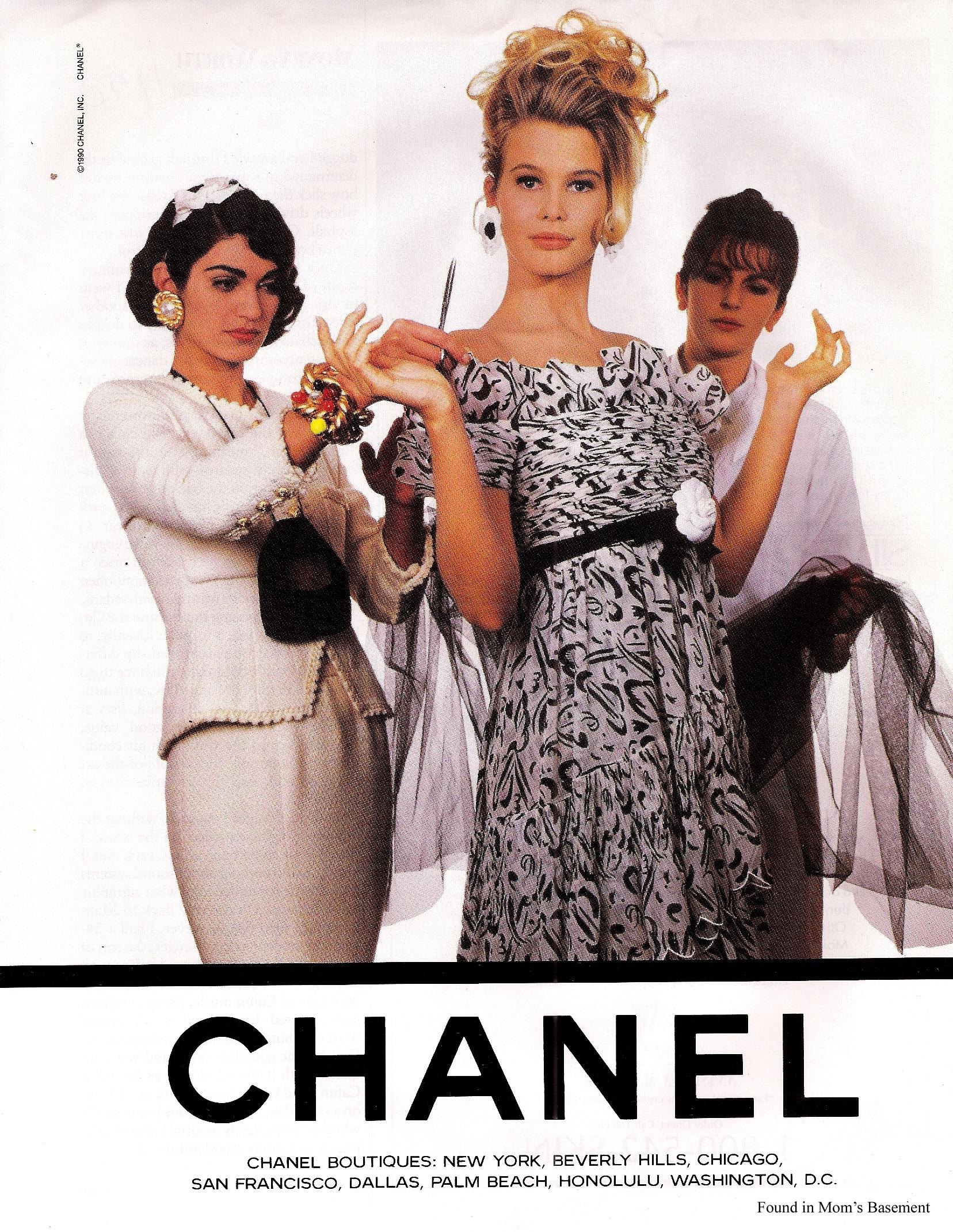 Клаудиа Шиффер для Chanel