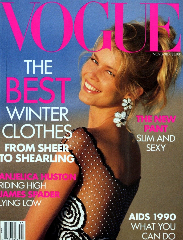 Клаудиа Шиффер для Vogue