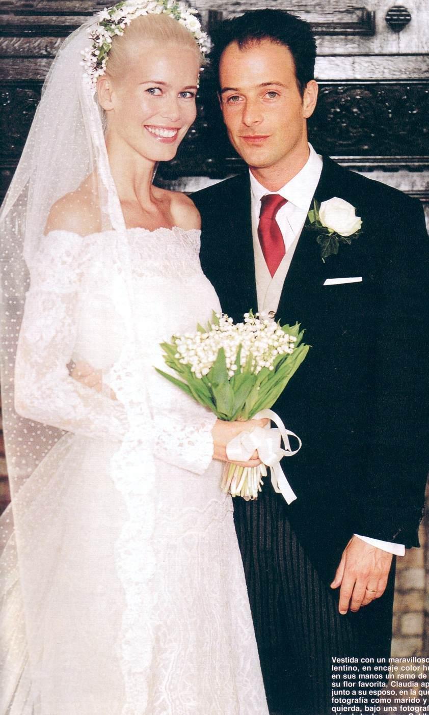 Клаудиа Шиффер с мужем