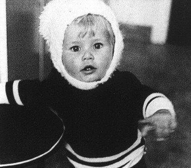 Клаудиа Шиффер в детстве
