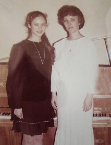 Ольга Куриленко в молодости