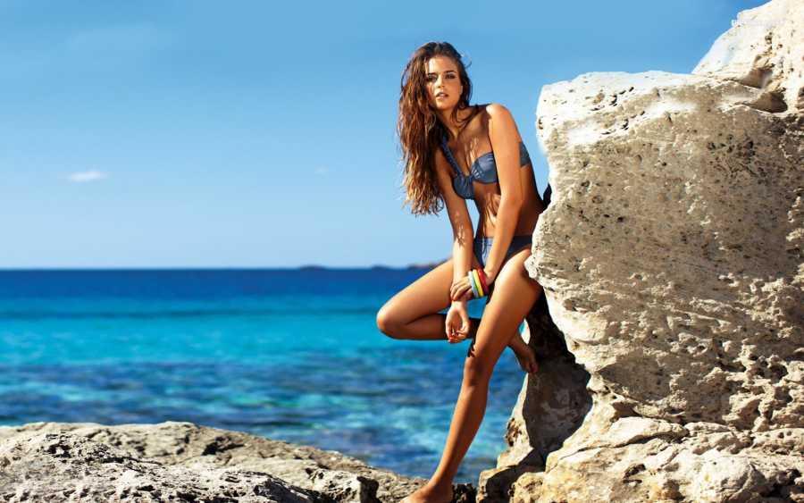 фотосессии девушек на пляже