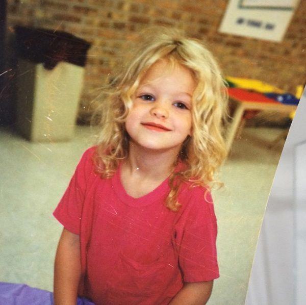 Эрин Хизертон в детстве
