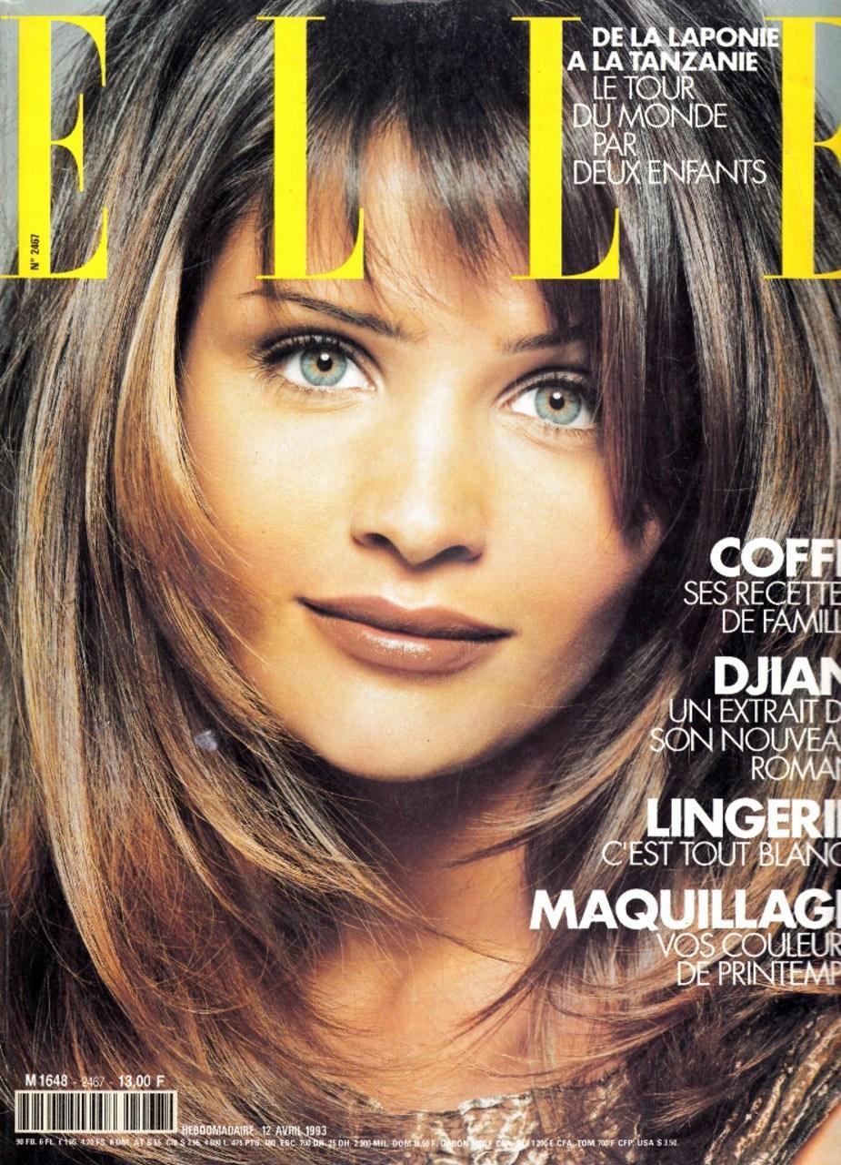 Хелена Кристенсен фото для Elle