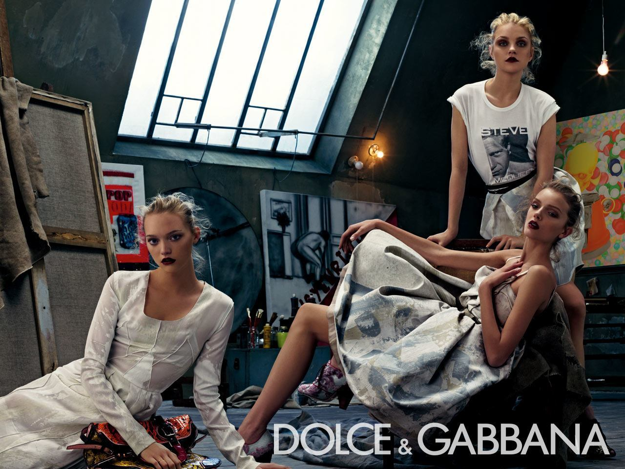 Лили Дональдсон для Dolce&Gabbana