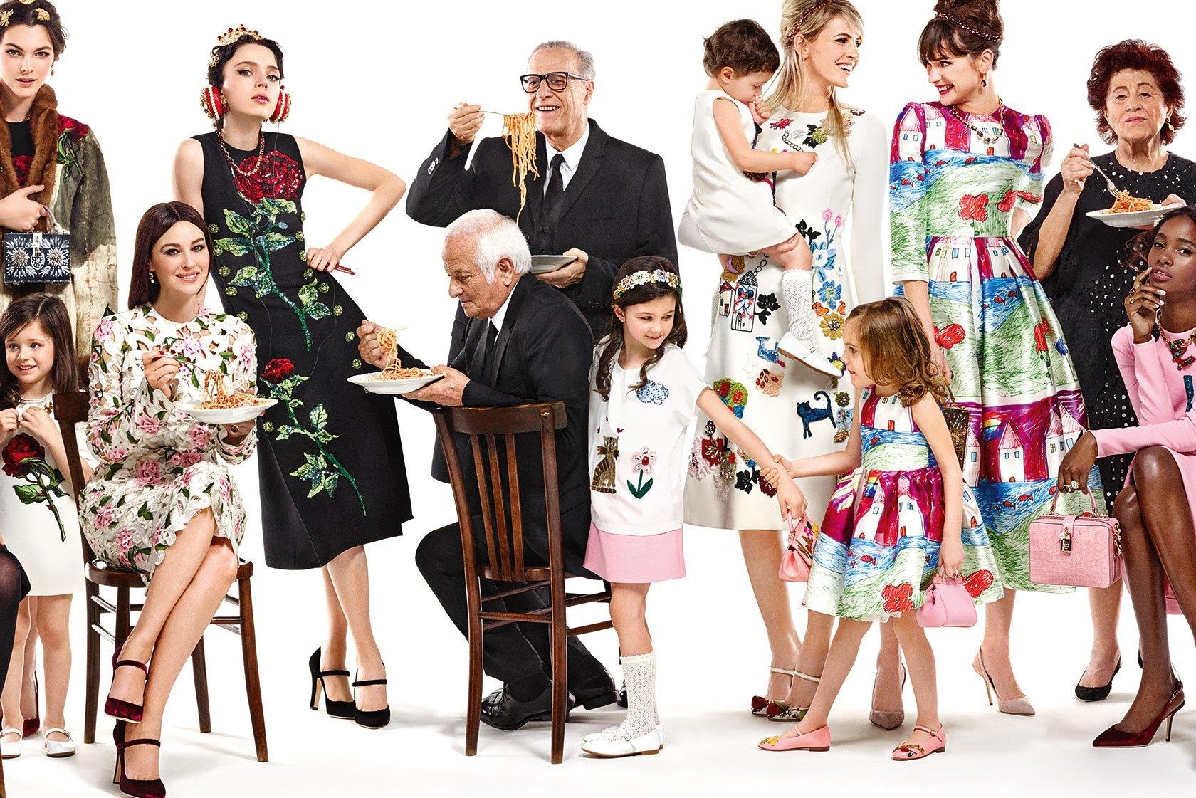 Моника Белуччи для Dolce&Gabbana 2015