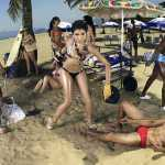 Фо фотосессия на людном пляже 12 сезон