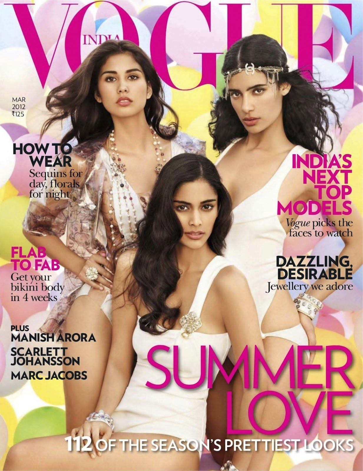 Джессика Кларк Vogue India