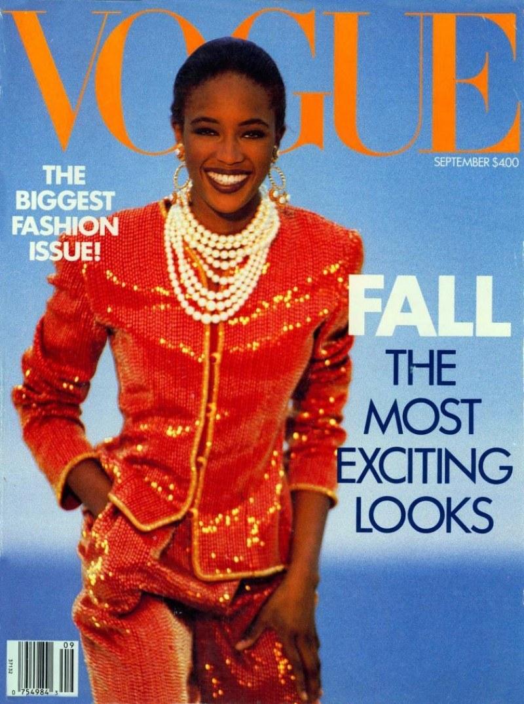 Наоми Кэмпбелл Vogue 1989