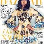 Наоми Кэмпбелл для Harpers Bazaar