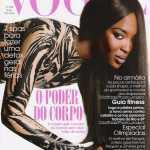 Наоми Кэмпбелл на обложке Vogue