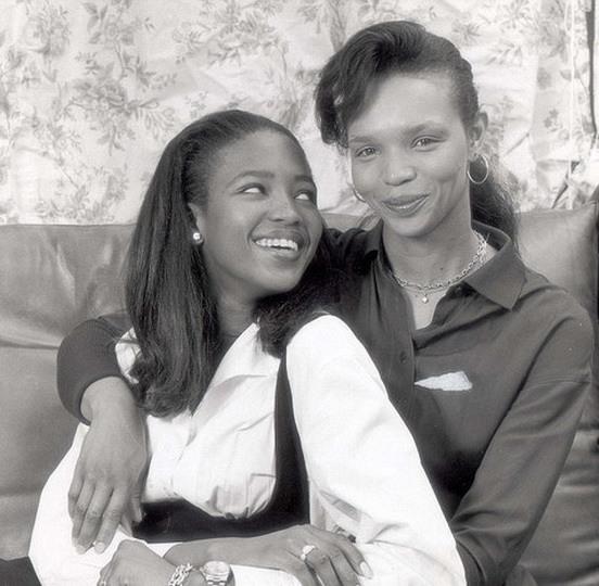 Наоми Кэмпбелл с мамой