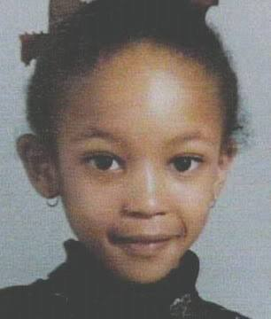Наоми Кэмпбелл в детстве