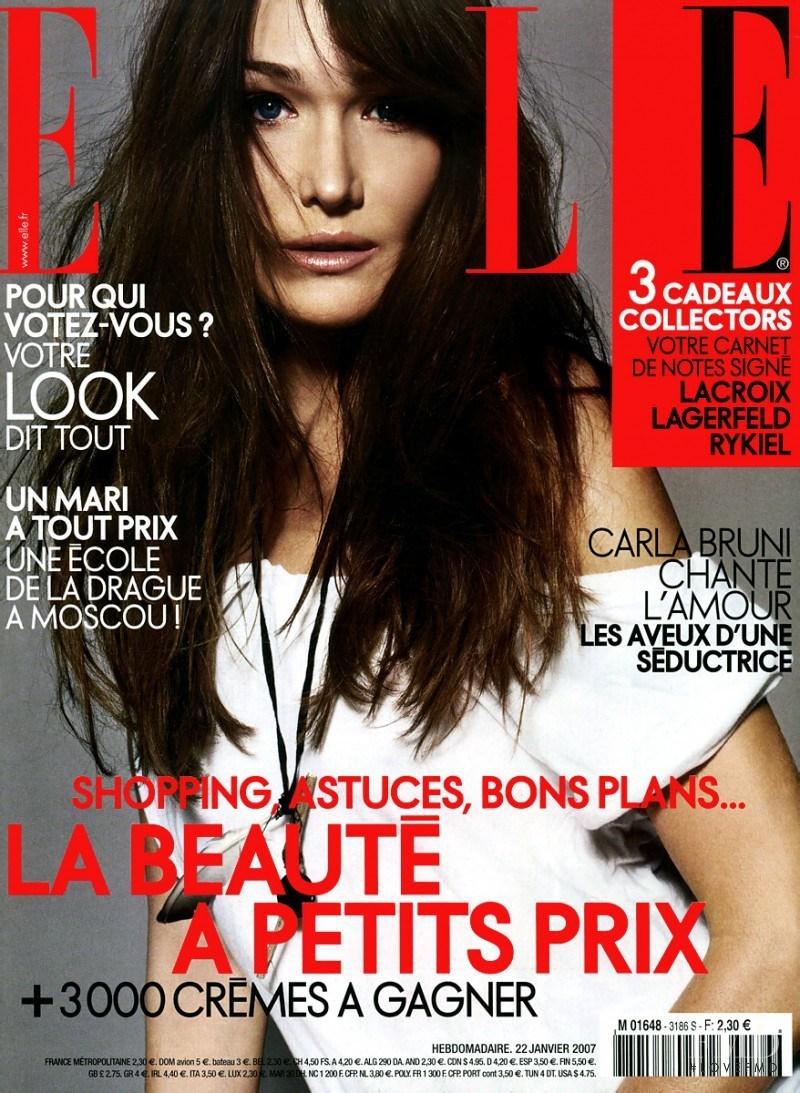 Карла Бруни для Elle