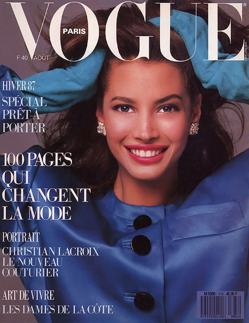 Кристи Тарлингтон фото Vogue