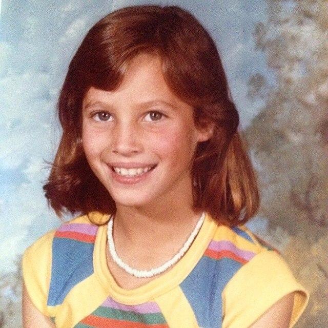 Кристи Тарлингтон в детстве